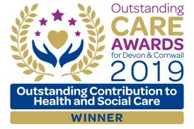 Outstanding Contribution to Health and Social Care Award 2019