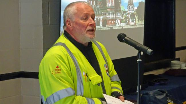 Blood Biker talks