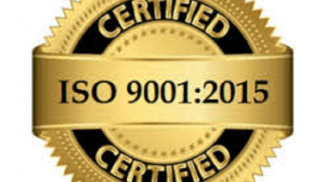 Quality Standards ISO9001:2015 Certified