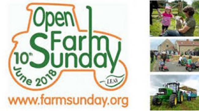 Open Farm Sunday 10th June 2018