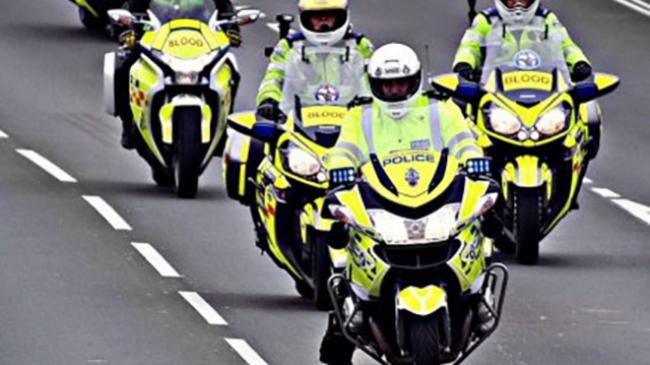 Devon & Cornwall Police with Blood Bikes